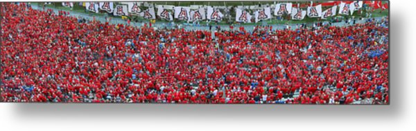 Arizona Stadium Triptych Part 3 Metal Print by Stephen Farley