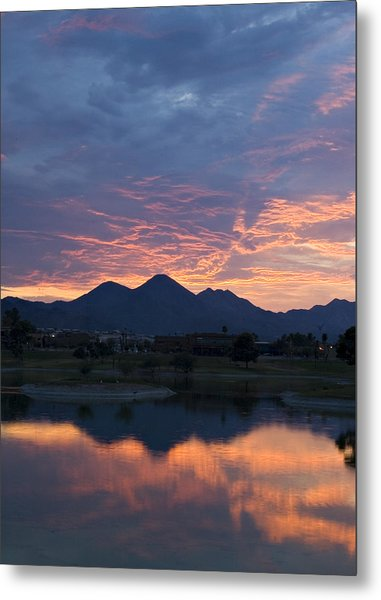 Arizona Sunset 2 Metal Print