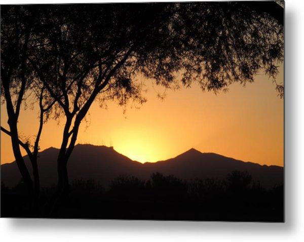 Arizona Sunset Metal Print