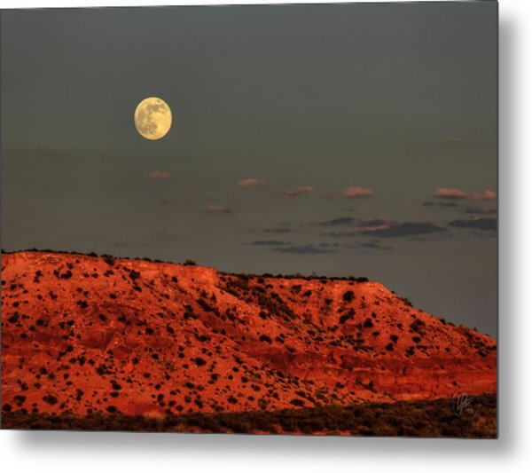 Arizona Supermoon 001 Metal Print