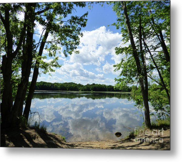 Arlington Reservoir Metal Print