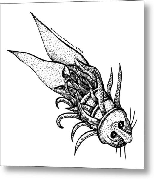 Arm Fish Metal Print by Karl Addison
