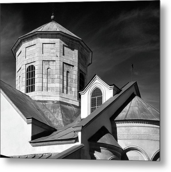 Armenian Church. Lviv, 2011. Metal Print