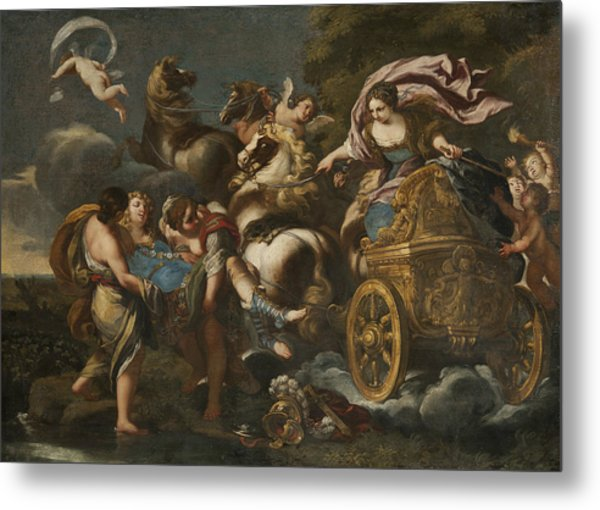 Armida Abducts Rinaldo Metal Print