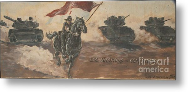 Armored Cavalry Metal Print by Unknown