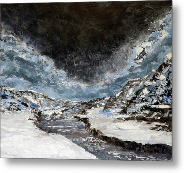 Arroyo Pass Metal Print