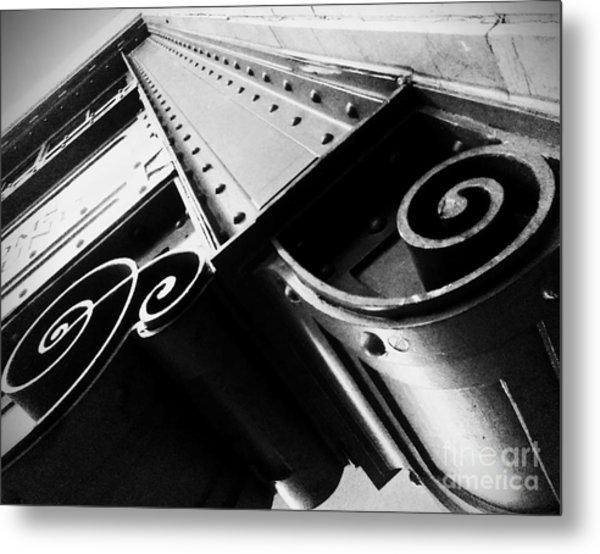Art Deco Steel Metal Print