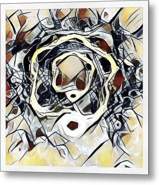 #art #digitalart Metal Print by Michal Dunaj