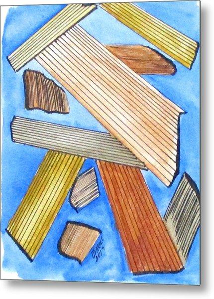 Art Doodle No. 24 Metal Print