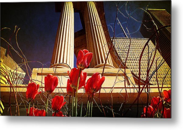 Art In The City Metal Print