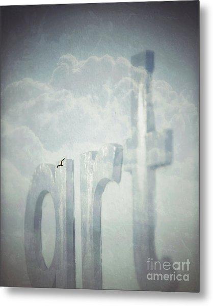 Art In The Clouds Metal Print