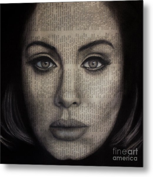 Art In The News 72-adele 25 Metal Print
