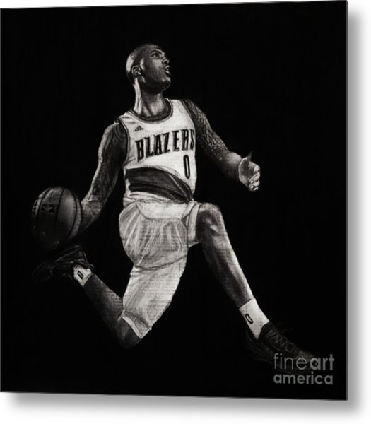 Art In The News- Lillard Metal Print