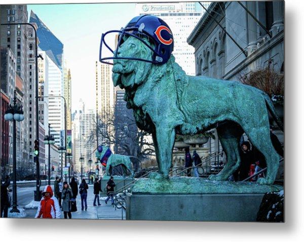 Art Institute Of Chicago Lions Metal Print
