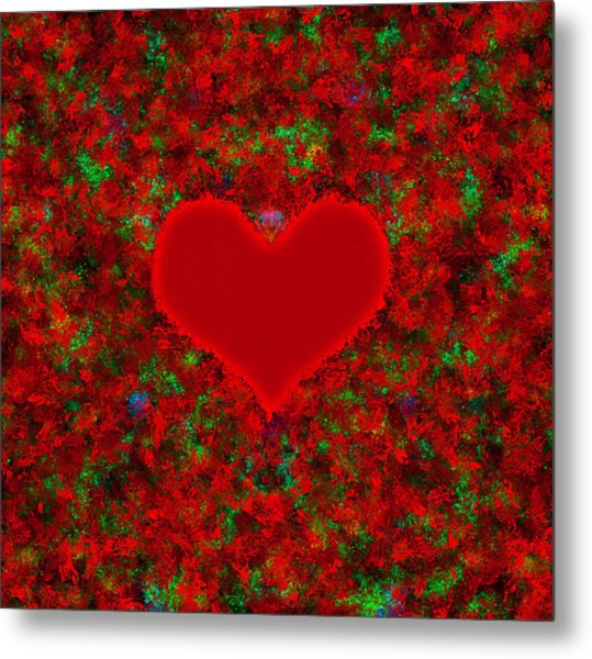 Art Of The Heart 2 Metal Print