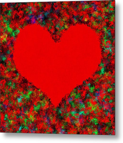 Art Of The Heart Metal Print