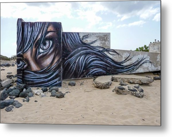 Art Or Graffiti Metal Print
