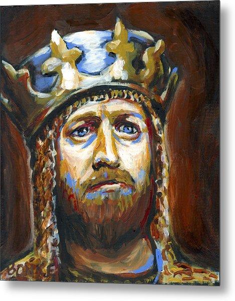 Arthur King Of The Britons Metal Print