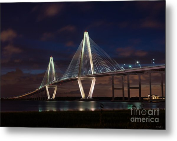 Arthur Ravenel At Night Metal Print