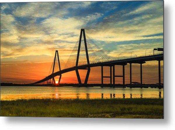 Arthur Ravenel Jr. Bridge - Charleston Sc Metal Print