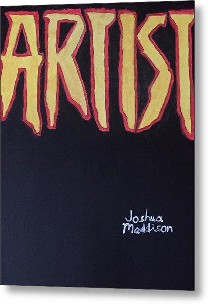 Artist 2009 Movie Metal Print