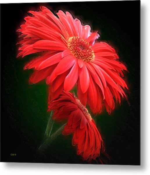 Artistic Touch Metal Print