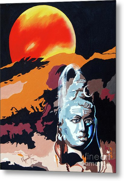 Artistic Vision Of The Almighty Metal Print