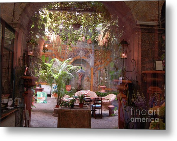 Artists' Studio In Sorrento Italy  Metal Print