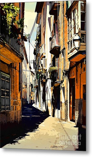Artwork Palma De Mallorca Spain Metal Print