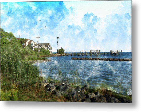 Arundel On The Bay Metal Print