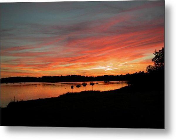 Arzal Sunset Metal Print