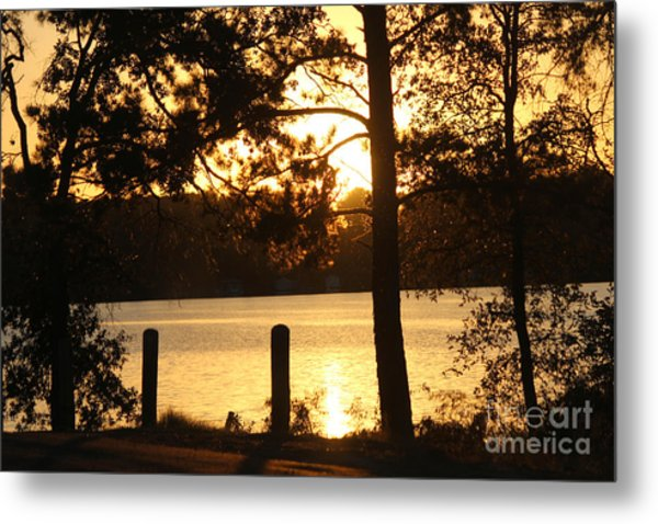 As Another Day Closes Metal Print