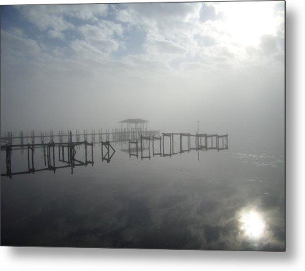 As The Fog Lifts Metal Print by Nicole I Hamilton