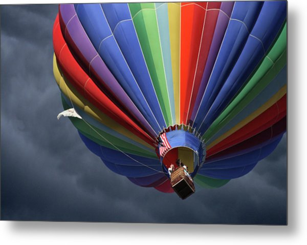 Ascending To The Storm Metal Print