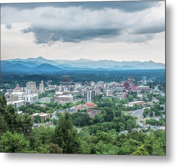 Metal Print featuring the photograph Asheville Afternoon Cropped by Jemmy Archer