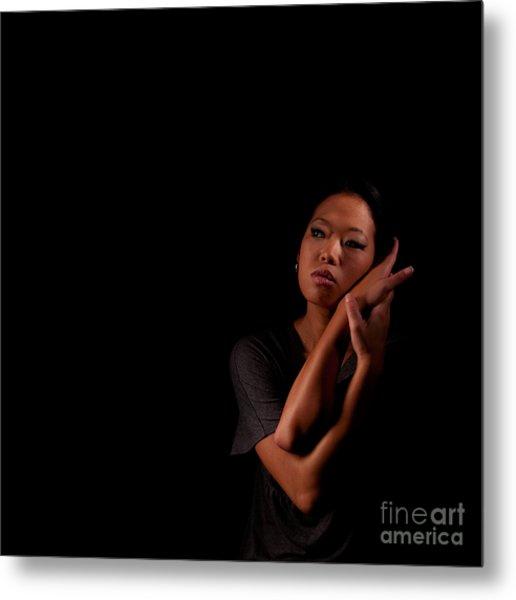 Asian Beauty 1284569 Metal Print