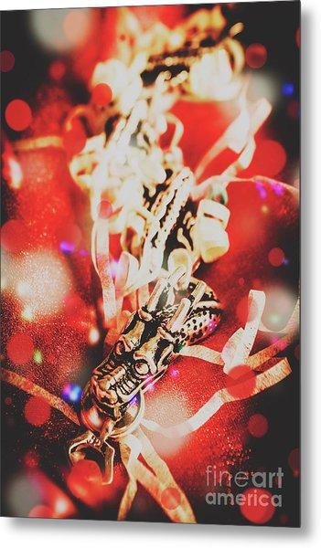 Asian Dragon Festival Metal Print