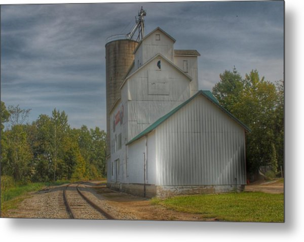 2008 - Aside The Tracks In Mayville Metal Print