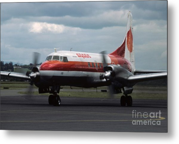 Aspen Convair 580 Metal Print