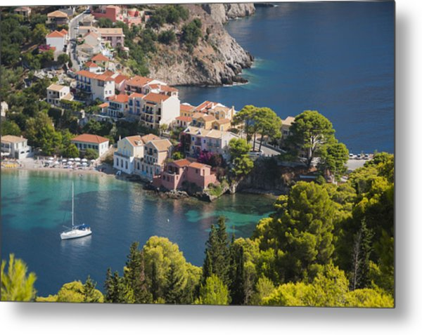 Assos In Greece Metal Print