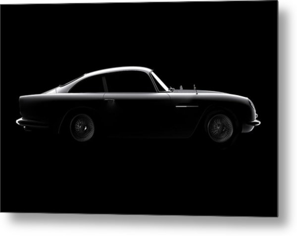 Aston Martin Db5 - Side View Metal Print
