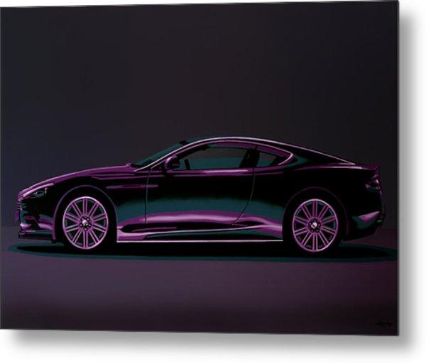 Aston Martin Dbs V12 2007 Painting Metal Print