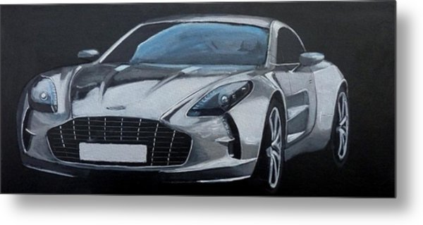 Aston Martin One-77 Metal Print