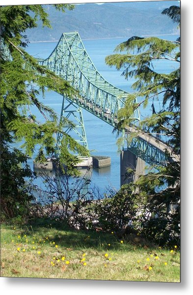 Astoria Bridge Metal Print
