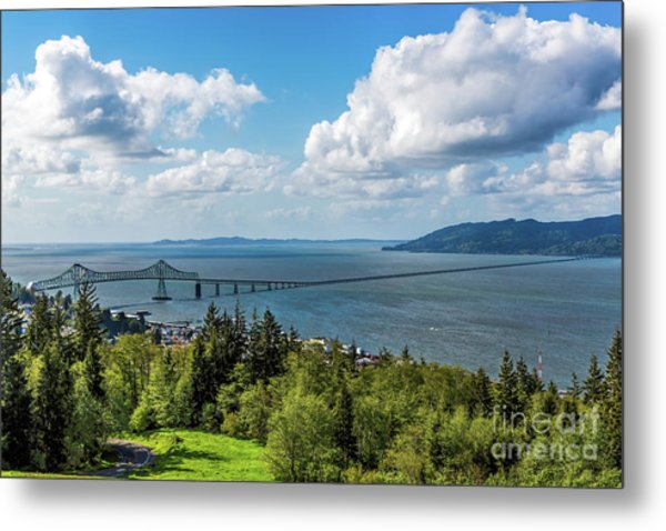 Astoria - Megler Bridge Metal Print
