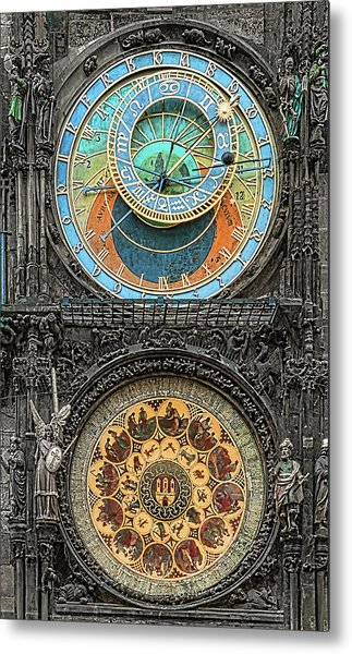 Astronomical Hours Metal Print