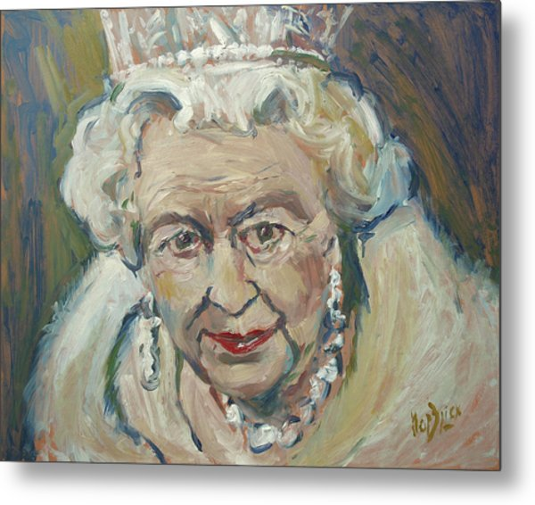 At Age Still Reigning Metal Print