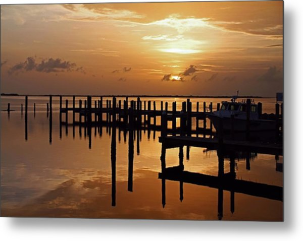 At Day's Close Metal Print