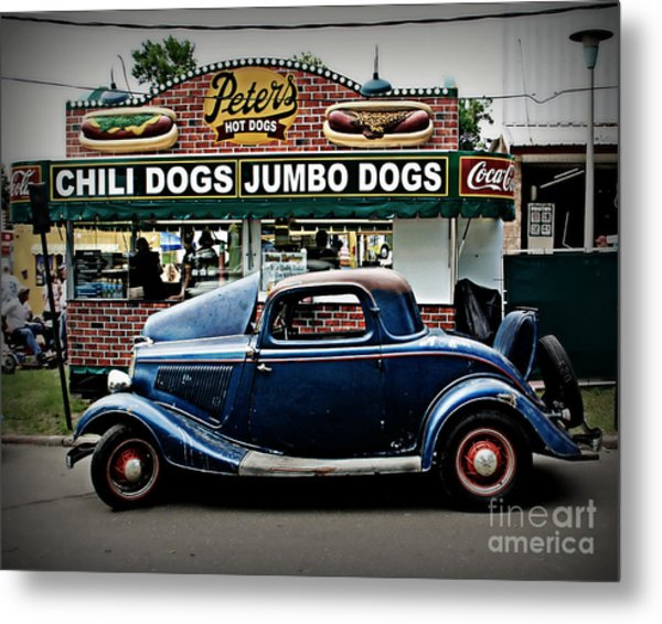At Peter's Metal Print