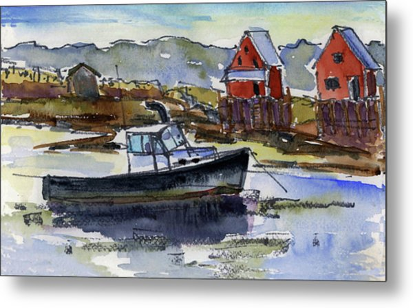 At Rest Metal Print by Mary Byrom
